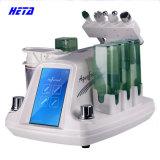 6 em 1 máquina facial de Microdermabrasion do diamante do cuidado de pele do pulverizador portátil do oxigênio da água