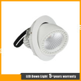 調節可能な7Wクリー族の穂軸LEDのジンバルライト