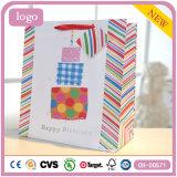 Geburtstag-Kuchen-System-Kleidungs-Spielzeug-Supermarkt-Andenken-Geschenk-Papierbeutel