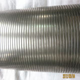 Sicherheitskreis-flexibles Metallrohr mit Nahrungsmittelgrad Kurbelgehäuse-Belüftung beschichtet