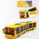 子供のためのおかしい良質のプラスチックスクールバスのおもちゃ