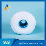 Hilos para obras de punto de lujo hechos girar anillo blanco óptico de la tela del poliester para tejer y hacer punto