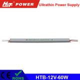 alimentazione elettrica di commutazione di 60W 5A 12V per il segno ultrasottile di Lightbox