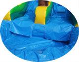 8*4*4.5m 굉장한 중간 크기 적은 수영장 싼 가격을%s 가진 상업적인 팽창식 물 미끄럼