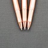 승진 (LT-E001)를 위한 우아한 선물 로즈 금 금속 롤러 펜