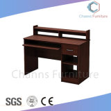 Forma reta de madeira computador do escritório de turismo com armário (CAS-CD1849)
