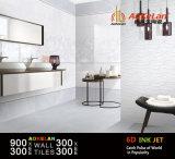 6D-Inkjet imprägniern glasig-glänzende keramische Wand-Innenfliese für Hauptdekoration