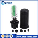 Tipo cúpula 72f FTTX Divisor de cierre de empalme de fibra óptica con PLC Splitter