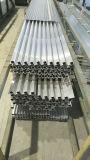 6061 T4 6063 T5 Geanodiseerde Buizen van de Uitdrijving van het Aluminium voor Tenten