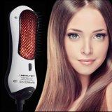 Новые вводя в моду инструменты 2 в 1 фене для волос и Styler длинноволновой части инфракрасной области щетки раскручивателя волос многофункциональной щетки фена для волос автоматических