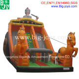 膨脹可能な遊園地のゲームの工場膨脹可能なスライドは販売のためのスライドの膨脹可能なスライドを乾燥する