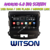 """Witson 9 """" Big Screen Android 6.0 Because DIGITAL VERSATILE DISC for Mitsubishi Outlander 2006-2012"""