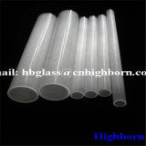Hitzebeständigkeit-milchiges weißes fixiertes Quarzglas-Rohr