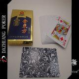 Póquer de jogo dourado e oriental dos Cartões-Dazhuang
