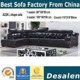 工場卸売価格の居間の家具の部門別の革ソファー(A23)