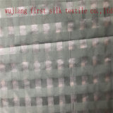 A tela da verificação do algodão de seda, fio tingiu a tela da verificação do algodão de seda
