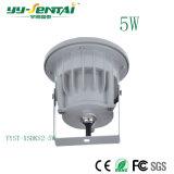 lumière élevée DEL du projecteur 5W pour extérieur