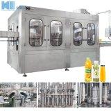 El lavado de la limitación de llenado de jugo de 3 en 1 que hace la máquina