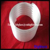 Hoher Reinheitsgrad-undurchlässiges schraubenartiges Quarz-Glas-Rohr
