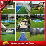 Césped artificial para la hierba artificial de los hogares para ajardinar de los jardines