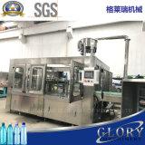Автоматическая жидкостная разливая по бутылкам машина с покрывая производственной линией