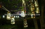 20 LED Mini со стеклянным кувшином светодиодные индикаторы строк работать от батареи для свадебное волшебная фонари рождественские украшения