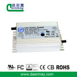 Condutor LED impermeável com certificação UL 120W 58V 2.1A