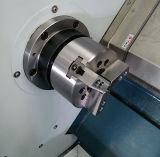 Тип шпиндель Tailstock CNC Lathe CNC кровати скоса горизонтальный обрабатывая машину Lathe