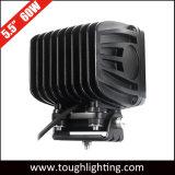 """12V 24V 5.5"""" cuadrado de 60W LED Heavy Duty Truck Offroad iluminación para vehículos de construcción"""