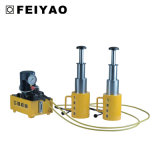 50 cilindro idraulico di capienza 3-Stage di tonnellata micro