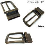 La boucle de courroie réversible en alliage de zinc de Pin de boucle en métal de qualité pour la robe ceinture les sacs à main de chaussures de vêtement (XWS119)