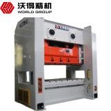 máquina do perfurador da série de 400ton Jw36 com dispositivo de sopro do PLC e do ar
