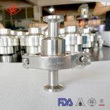 Bride de clapet anti-retour d'acier inoxydable de qualité/constructeur sanitaires d'amorçage