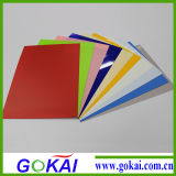 Fours colore la feuille rigide de PVC