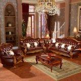 De Bank van het leer met Kabinetten voor het Meubilair van de Woonkamer (992Y)