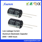 De beste Lage Condensator van de Lekkage Elektrolytische 220UF 100V