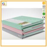 Impression de cahier de livre À couverture dure d'obligatoire enfermé (OEM-GL021)