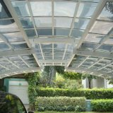 Matériau de châssis en alliage aluminium Heph et jardin Matériel de toit en verre trempé Conservatory Sun chambre