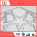 Espelho de ouro/ Traço Fino esculpidas em aço inoxidável/ Painéis Gravada Empurrador Jardim/ empurrador de privacidade