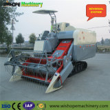 Wishope 4lz-4.0の米のためのゴム製クローラーコンバイン収穫機