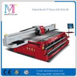 Máquina de impresión digital impresión dx7 de superficie plana de cabezales de impresora de inyección de tinta UV de SGS aprobado CE