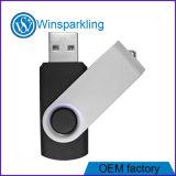 Memoria Flash más barata del USB del USB del eslabón giratorio de la buena calidad