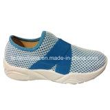 Женщины подгоняли ботинки холстины впрыски ботинок спорта тапки (YJ1216-2)