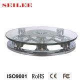 escala personal mecánica de cristal redonda del hotel de la escala de 150kg 8m m