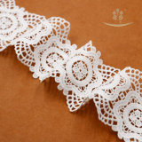 Китай высокого качества на заводе свадебной моды белый тюль кружевом