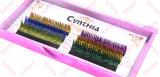 Выдвижения ресницы яркия блеска Handmade самого лучшего состава качества синтетические индивидуальные