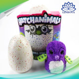 El juguete creativo del huevo para incubar embroma el huevo para incubar fantástico interactivo del huevo de dinosaurio de los niños