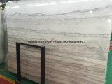 Китайский сляб Bianco белый мраморный для плитки пола