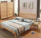 Кровать мебели двойной кровати дуба твердой древесины самомоднейшая (M-X3852)