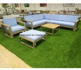 屋外の家具の現代庭のソファー